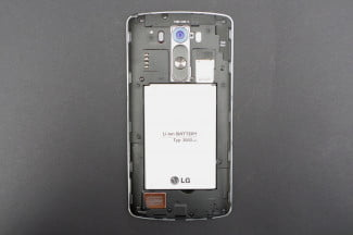 LG G3 work review back cover off