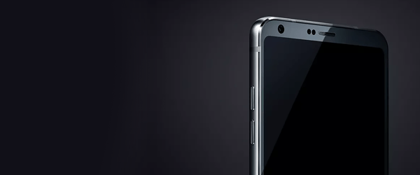 LG's first G6 smartphone teaser shows off barely-there display bezel