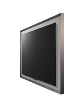 LG GALLERY OLED TV side view