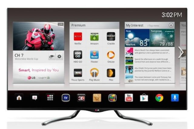 android tv set top box news lg google