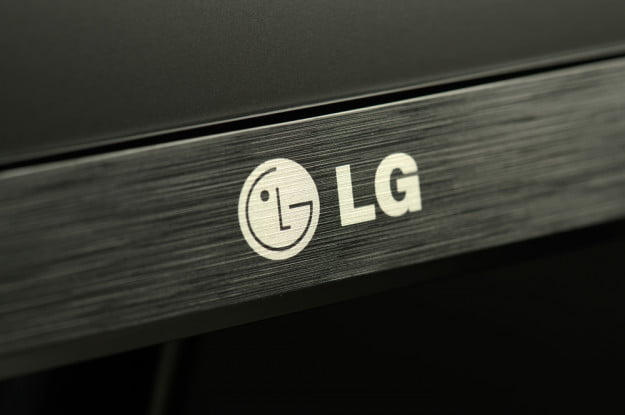 LG IPS235V monitor review bezel