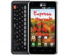 LG Mach front qwerty android phone