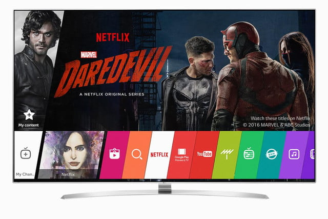 netflix recommended tv list expands to feature  lg models tvs