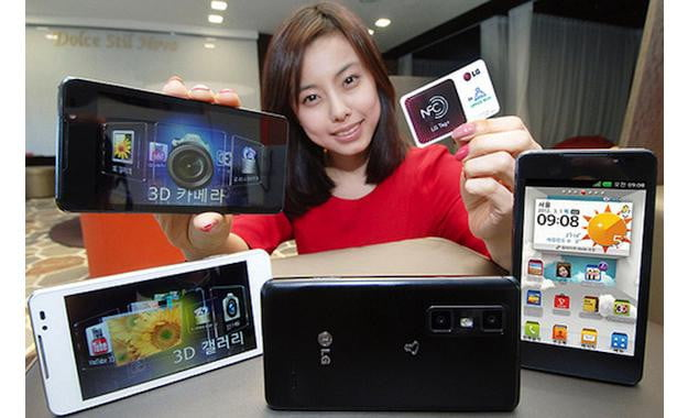 LG Optimus 3D Max Cube Collection