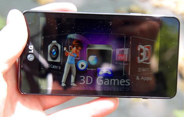 LG Optimus 3D Max 3D software