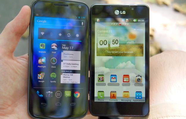 The LG Optimus 3D Max Android 2.3