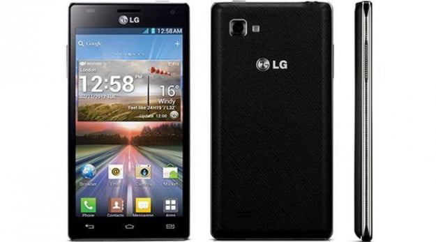 LG Optimus 4X HD official shots