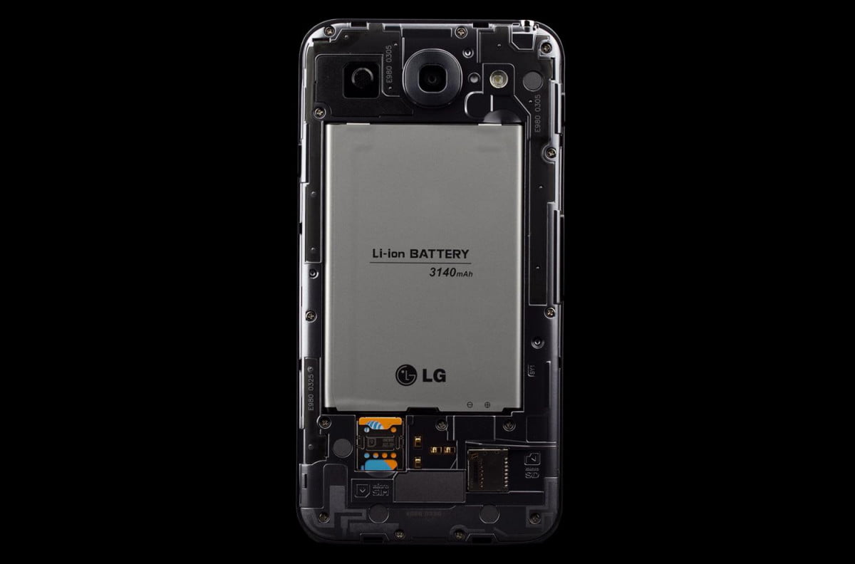 LG Optimus G Pro Battery Life