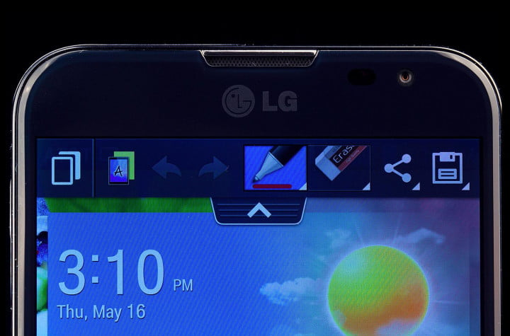 lg optimus g pro vs samsung galaxy note  display