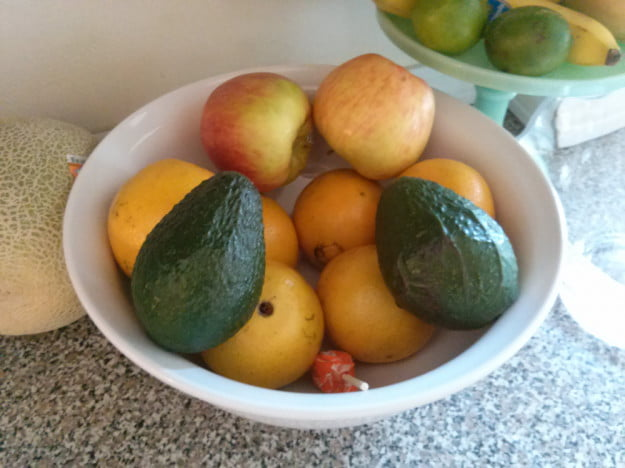 LG Optimus G review camera sample fruit android smartphone