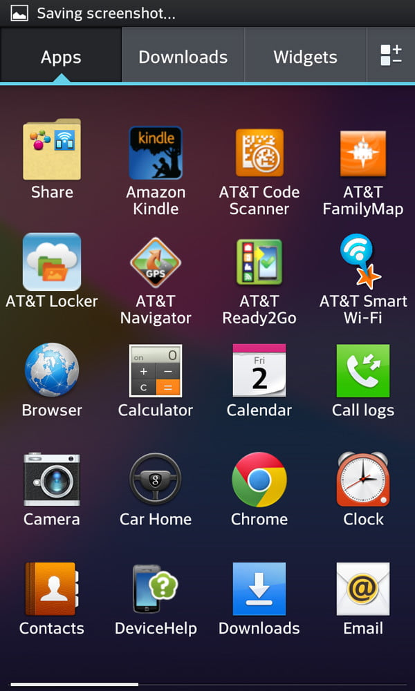 LG Optimus G review screenshot apps android smartphone