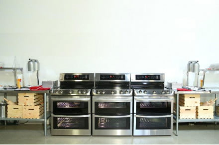 LG ProBake Oven Range Convection