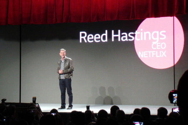lg announces netflix  k streaming app new uhd models reed hastings