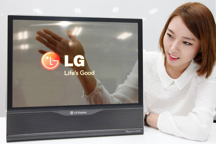 lg rollable oled tv panel display