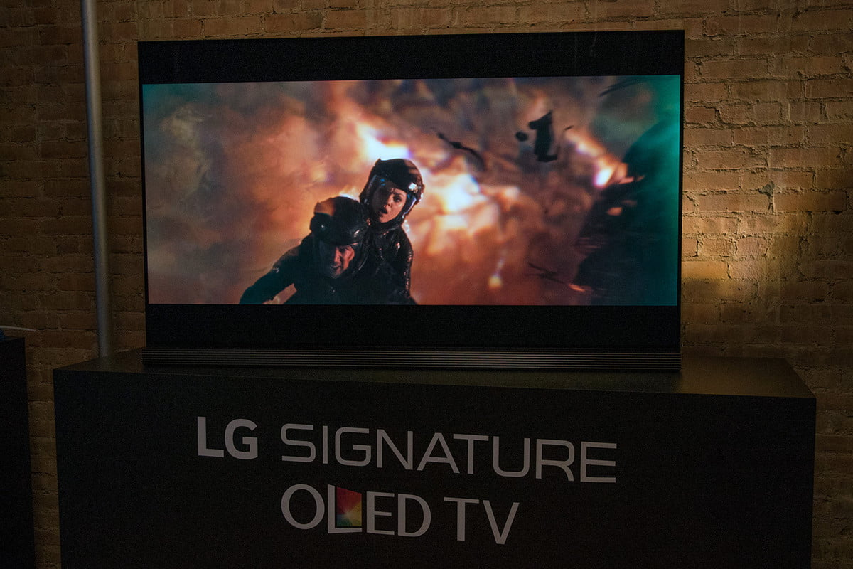 annual tv shootout winner announced at ce week lg signature g  oled review