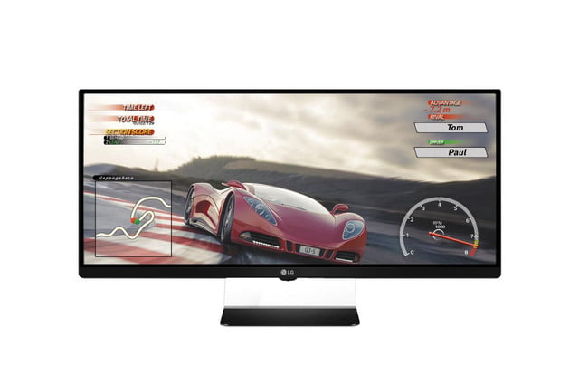 lg shows  ultra wide monitor line at ces um