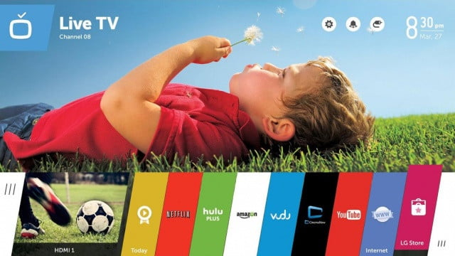lg smart tv to add capability for google play movies and web os v  x