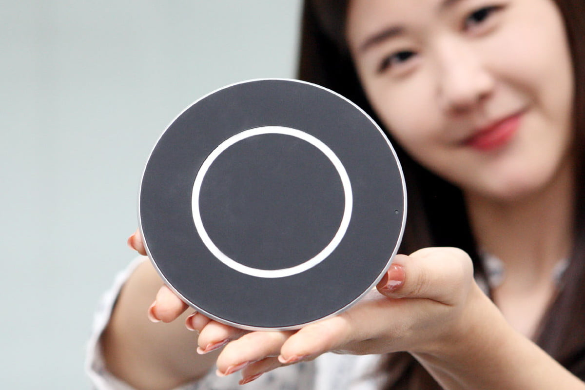 lg quick wireless charging pad news charger disc