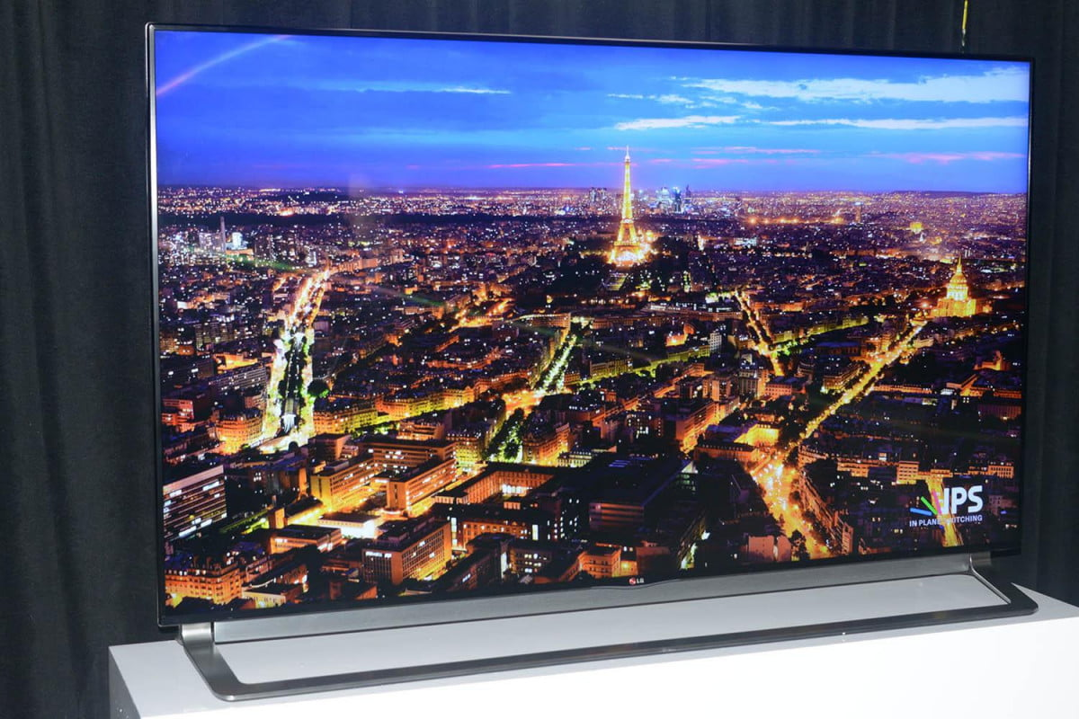 lg shows off its expanded line of  k uhd televisions at cedia