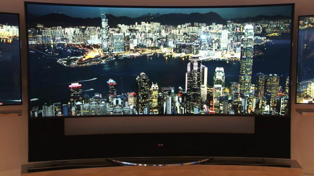 lg releases  inch k tv x