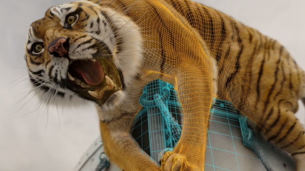 Oscar effects how life of pi caught a digital tiger by for Is piscine molitor patel a real person