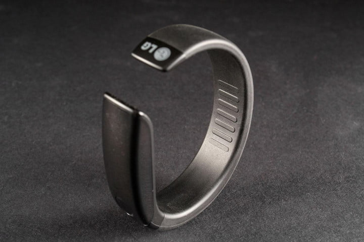 lg lifeband touch activity tracker review fb  bm top back angle