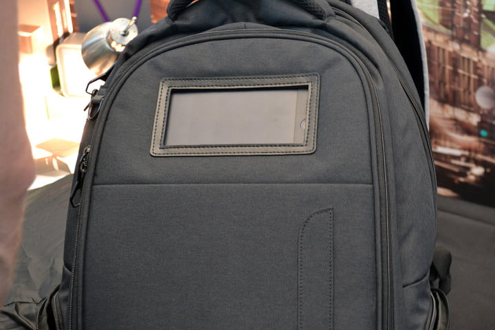 lifepack multifunctional backpack solarbank charges gadgets