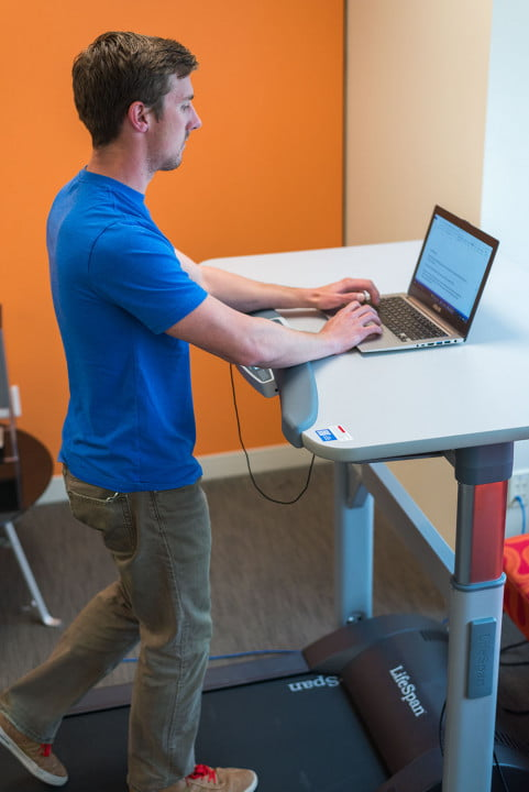 why you should try using a treadmill desk at work lifespan tr  nick
