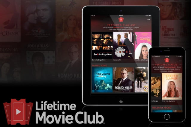 lifetime bets you will pay  a month to watch sappy movies movie club