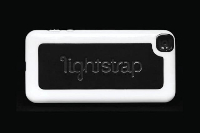 lightstrap flash unit iphone comes kickstarter case