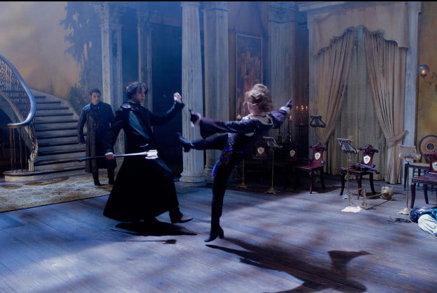 Lincoln fighting vamps