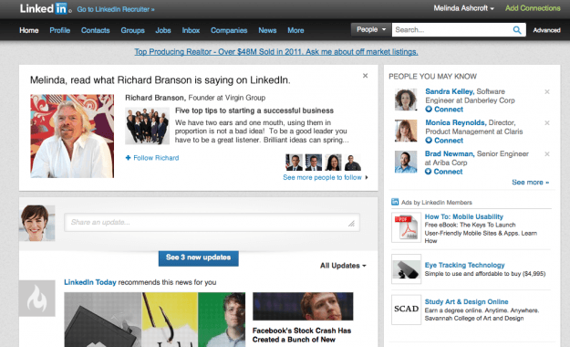 linkedin thought leaders richard branson