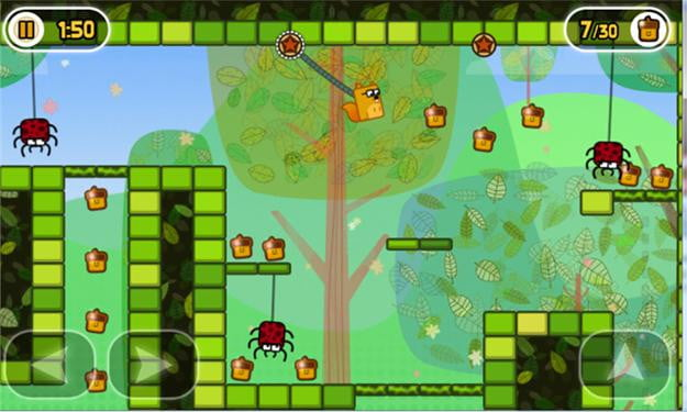 little acorns screenshot windows phone 7 game app