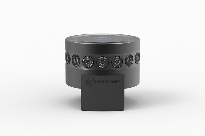 Could this 16 lens camera be the future of live television for Camera it web tv