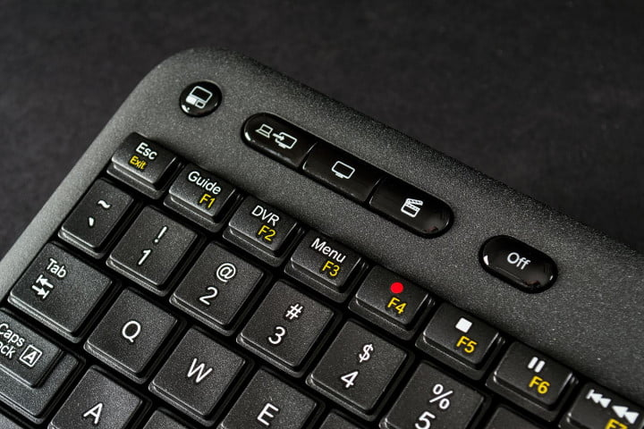 logitech harmony smart keyboard review special keys