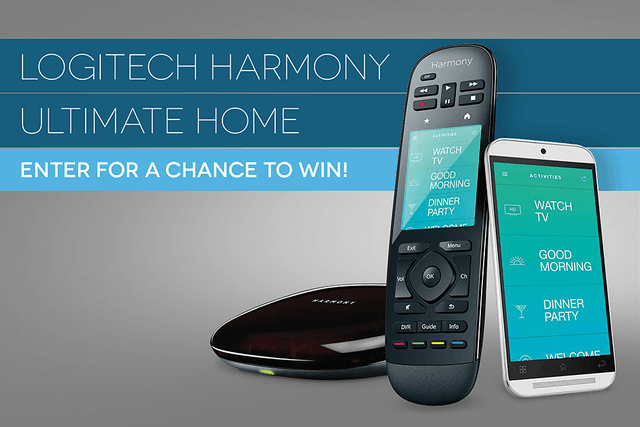 dt giveaway logitech harmony ultimate home