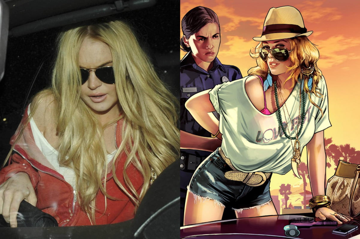 rockstar games says lindsay lohan sued attention gta