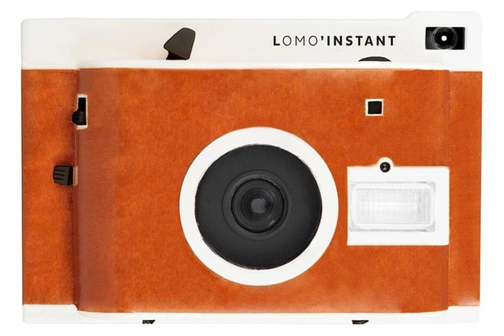 lomography satiate impatient analog film lovers new instant camera lomoinstant leather