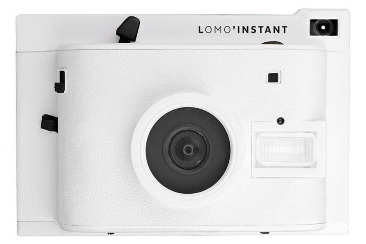 lomography satiate impatient analog film lovers new instant camera lomoinstant white