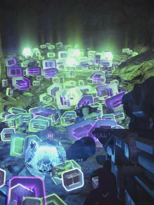 A million deaths are not enough: Destiny's infamous loot cave is haunted now