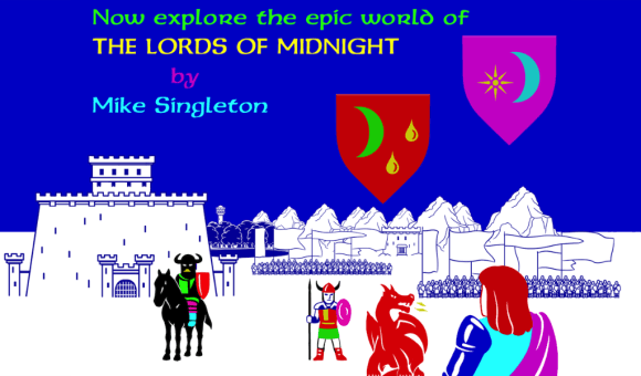 lords of midnight screenshot