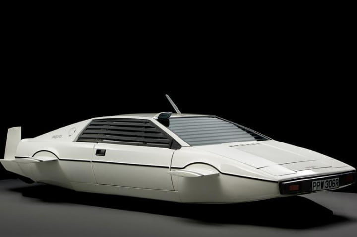 elon musk buys  submarine car lotus esprit bond