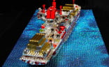 Love-to-the-Rescue-LEGO-Sculpture-rear