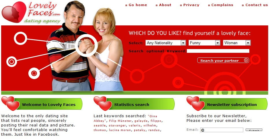 dating sites using facebook