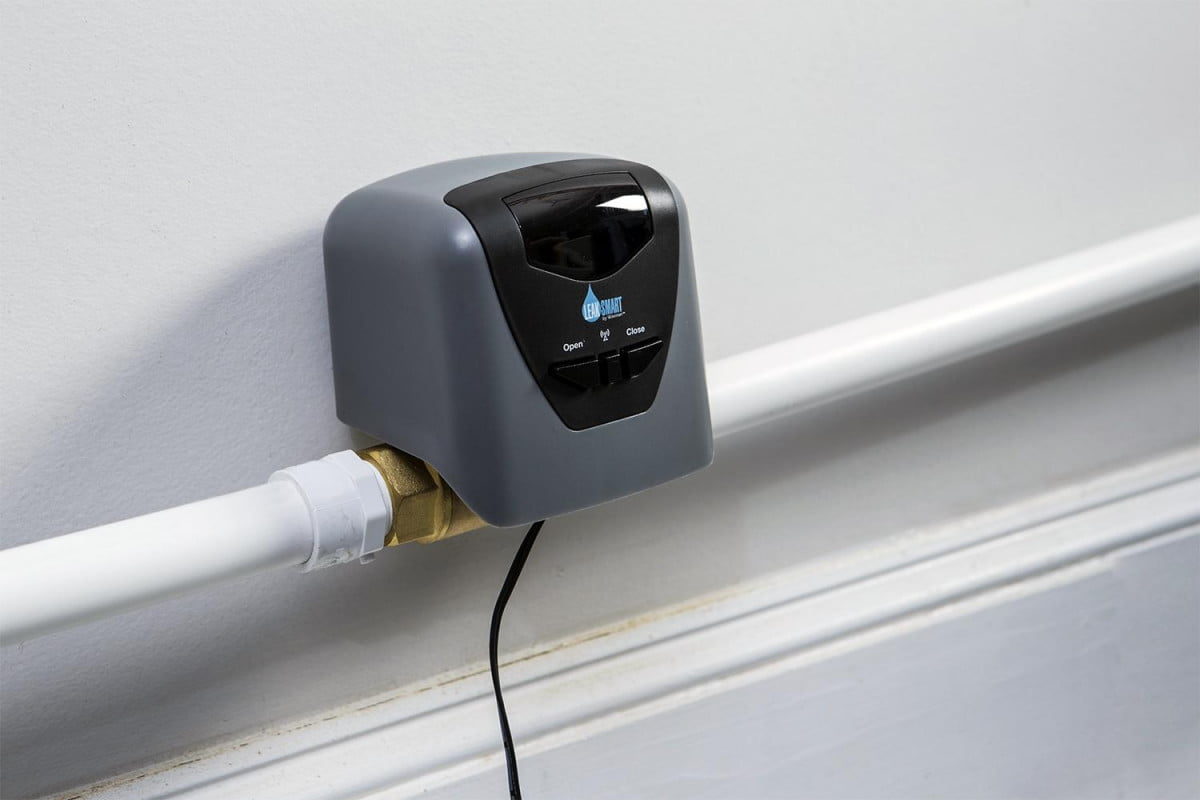 lowes new smart valve shuts water detects pipe burst waxman volve