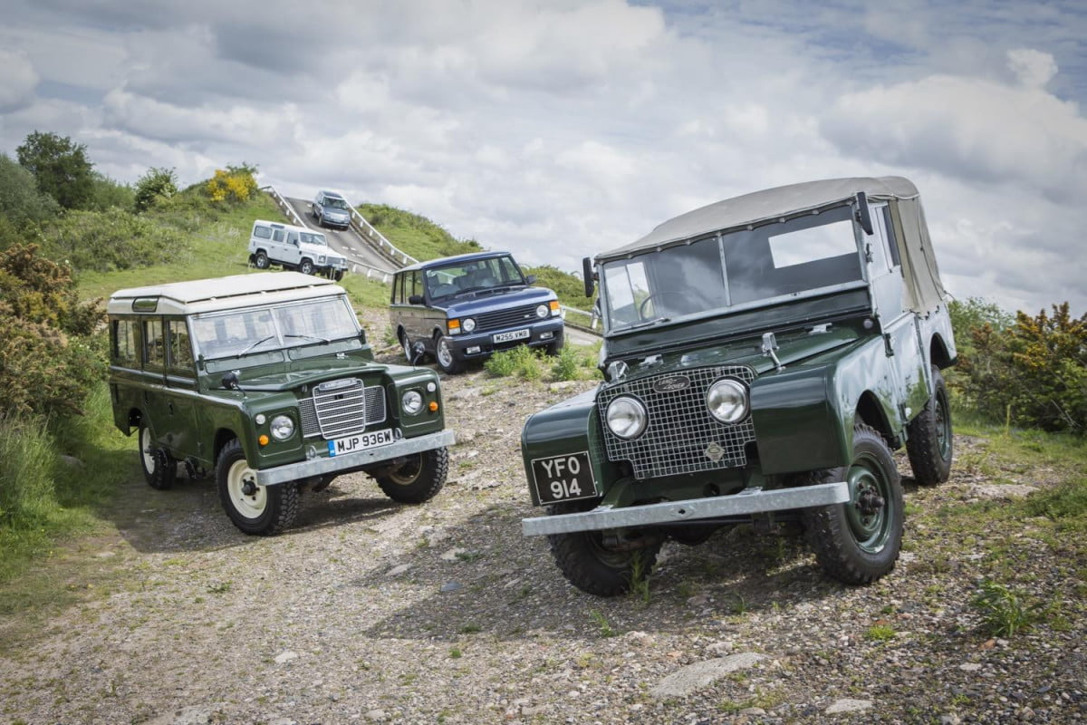 land rover heritage driving experience launches in uk