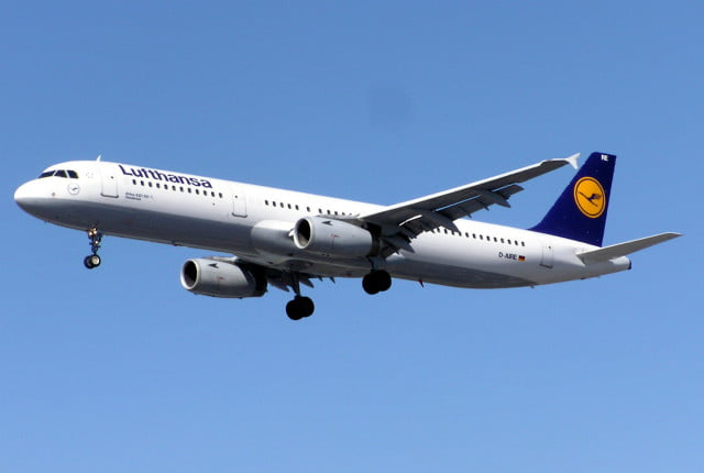 airline drone collision lax lufthansa