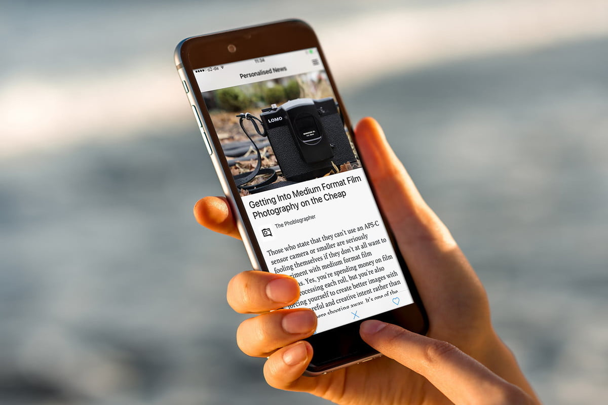 lumi news is like tinder meets flipboard and we love it personalized app