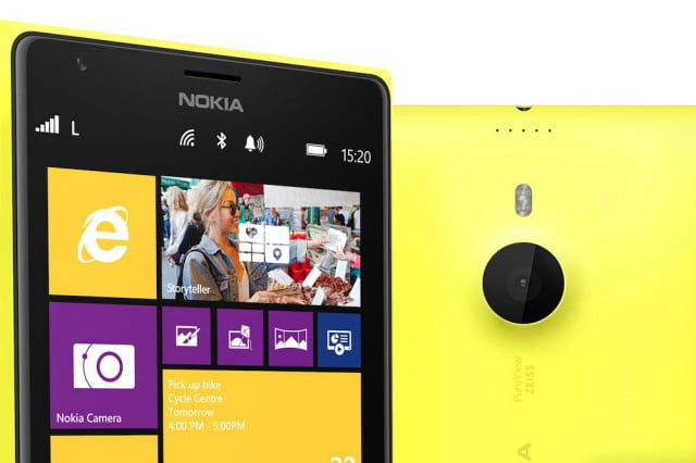 lumia  for verizon leaked again yellow close