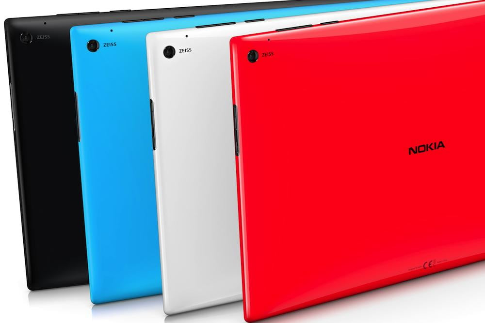 lumia  windows rt tablet announced colors